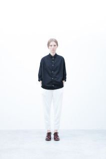 Shirt / S6_N058S : OSSH 19,000yen+tax br; Pants / S6_N031P : WTPT 24,000yen+tax br; Shoes / S6_F111R : REGALIA DUDA-L 98,000+tax