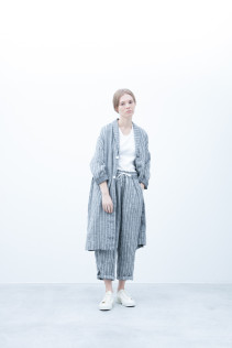 Coat / S6_N152C : LHCT 43,000yen+tax br; Pants / S6_N151P : WEPT 28,500yen+tax