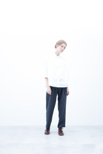 Shirt / S6_N058S : OSSH 19,000yen+tax br; Pants / S6_N062P : WDPT 19,500yen+tax br; Shoes / S6_F111R : REGALIA DUDA-L 98,000+tax