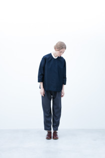 Pullover / S6_N093B : DPPO-U 18,500yen+tax br; Shirt / S6_N058S : OSSH 19,000yen+tax br; Pants / S6_N062P : WDPT 19,500yen+tax br; Shoes / S6_F111R : REGALIA DUDA-L 98,000+tax