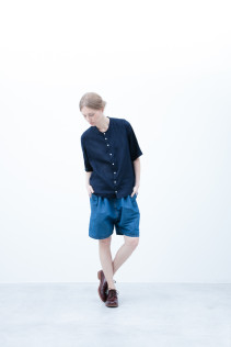 Shirt / S6_N023S : JMSH5 19,000yen+tax br; Short Pants / S6_N092P : DSSL 18,000yen+tax br; Shoes / S6_F111R : REGALIA DUDA-L 98,000+tax