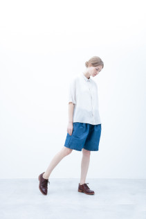 Shirt / S6_N172S : DOSH 20,500yen+tax br; Short Pants / S6_N092P : DSSL 18,000yen+tax br; Shoes / S6_F111R : REGALIA DUDA-L 98,000+tax