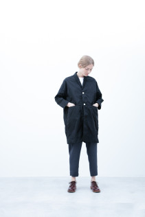 Coat / S6_N011C : HMCT 34,500yen+tax br; Cut&Sewn / S6_N082T : BTNT5 10,000yen+tax br; Pants / S6_N061P : WYPT 19,500yen+tax br; Shoes / S6_F111R : REGALIA DUDA-L 98,000+tax