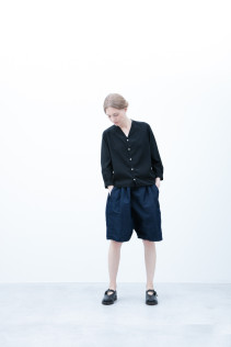 Shirt / S6_N114S : VNSH 18,500yen+tax br; Short Pants / S6_N092P : DSSL 18,000yen+tax br; Shoes / S6_F1220R : ORDINARIA NOBLE 59,000yen+tax