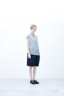 Shirt / S6_N173S : FSSH 18,000yen+tax br; Short Pants / S6_N092P : DSSL 18,000yen+tax br; Shoes / S6_F1220R : ORDINARIA NOBLE 59,000yen+tax