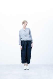 Shirt / S6_N171S : JMSH 21,500yen+tax br; Pants / S6_N091P : DEPT 22,000yen+tax