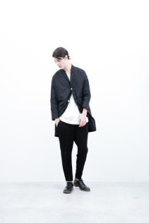 Coat / S6_N011C : HMCT 34,500+tax br; Cut&Sewn / S6_N187T : KCT7 13,000+tax br; Pants / S6_N101P : SLMPT 20,000+tax br; Shoes / S6_F116R : REGALIA DURA-M 98,000+tax br;