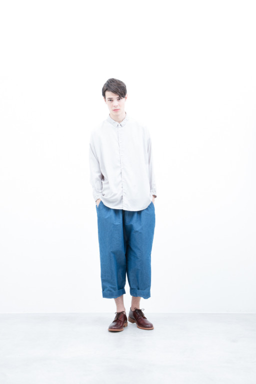 Shirts / S6_N056S : TOSH 21,000+tax br; Pants / S6_N091P : DEPT 22,000+tax br; Shoes / S6_F116R : REGALIA DURA-M 98,000+tax br;