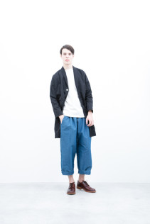 Coat / S6_N011C : HMCT 34,500+tax br; Cut&Sewn / S6_N081T : BTNT7 11,000+tax br; Pants / S6_N091P : DEPT 22,000+tax br; Shoes / S6_F116R : REGALIA DURA-M 98,000+tax br;