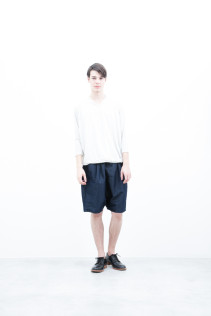 CuT&Sewn / S6_N187T : KCT7 13,000yen+tax br; Short pants / S6_N092P : DSSL 18,000yen+tax br; Shoes / S6_F116R : REGALIA DURA-M 98,000yen+tax