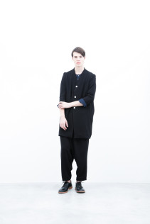 Coat / S6_N105C : MVCT-U 34,500yen+tax br; Shirt / S6_N026S : LMKSH 21,500yen+tax br; Pants / S6_N103P : FTYPT 22,000yen+tax br; Shoes / S6_F116R : REGALIA DURA-M 98,000yen+tax