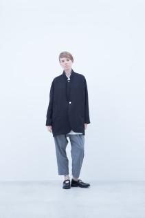 Jacket / A6_N112J : OTJK 37,500+tax br; Pants / A6_N041P : TRSL 22,500+tax br; Shoes / S6_F1220R : ORDINARIA NOBLE 59,000yen+tax