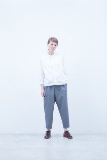 Shirt / A6_N012S : JMSH 18,500+tax br; Pants / A6_N042P : TYSL 21,000+tax br; Shoes / S6_F111R : REGALIA DUDA-L 98,000+tax