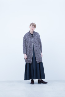Knit Coat / A6_N153K : EGCD 53,000+tax br; Dress / A6_N164DR : NFDR 45,500+tax br; Shirt / A6_N072S : CLGSH 22,500+tax br;