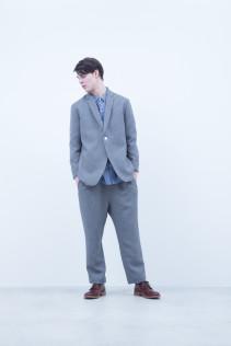 Jacket / A6_N111J : TDRJK 38,500+tax br; Shirt / A6_N014S : WDSH 21,000+tax br; Pants / A6_N114P : STPT 23,000+tax br; Shoes / S6_F116R : REGALIA DURA-M 98,000+tax br;