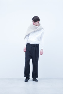 Sweater / A6_N152K : EGSW_U 39,000+tax br; Shirt / A6_N013S : LMKSH 21,000+tax br; Pants / A6_N163P : WTPT 29,000+tax br;