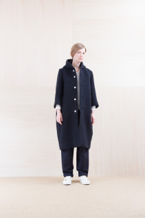 Coat_ NA15-C231 FBCT-L 58,500yen+tax br; Cut&Sewn_ FA15031 ELEM T-L 9,500yen+tax br; Pants_ NA15-P132 WDPT 24,500yen+tax