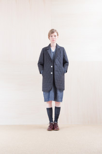 JacketCoat_ CEJK-L 54,000yen+tax br; Dress_ NA15-T85 GTOP 24,000yen+tax br; Cut&Sewn_ FA15031 ELEM T-L 9,500yen+tax  br; Sox_ FA15041 LANA01 3,300yen+tax br; Shoes_ FA15051 REGALIA DURA-L 98,000yen+tax