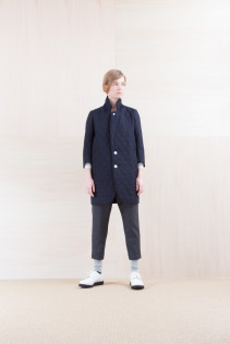 JacketCoat_ NA15-J182 CEJK-L 54,000yen+tax br; Cut&Sewn_ NA15-T52 BRRT 10,500yen+tax br; Pants_ NA15-P131 SLSL 23,500yen+tax br; Sox_ FA15041 LANA01 3,300yen+tax br; Shoes_ FA15071 AGGRESSIA DURA-L 44,000yen+tax