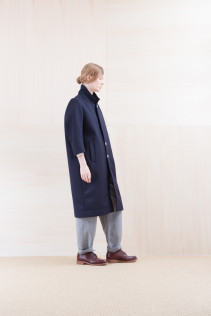 Coat_ NA15-C213 CECT-L 58,500yen+tax br; Cut&Sewn_ NA15-T52 BRRT 10,500yen+tax br; Pants_ NA15-P132 WDPT 24,500yen+tax br; Sox_ FA15041 LANA01 3,300yen+tax br; Shoes_ FA15051 REGALIA DURA-L 98,000yen+tax