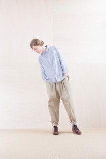 Shirts_ NA15-S11 JSOSH 18,500yen+tax br; Pants_ NA15-P141 CTSL 21,000yen+tax br; Sox_ FA15041 LANA01 3,300yen+tax br; Shoes_ FA15051 REGALIA DURA-L 98,000yen+tax