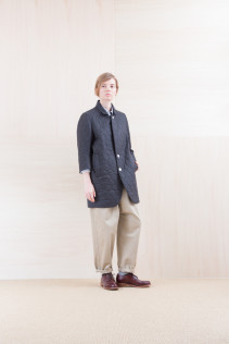 JacketCoat_ NA15-J182 CEJK-L 54,000yen+tax br; Shirts_ NA15-S11 JSOSH 18,500yen+tax br; Pants_ NA15-P141 CTSL 21,000yen+tax br; Sox_ FA15041 LANA01 3,300yen+tax br; Shoes_ FA15051 REGALIA DURA-L 98,000yen+tax