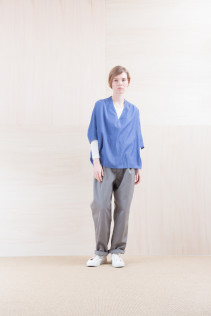 Shirts_ NA15-S34 DPO 14,500yen+tax br; Cut&Sewn_ NA15-T53 BROT-L 9,500yen+tax br; Pants_ FA15021 LAT 19,500yen+tax