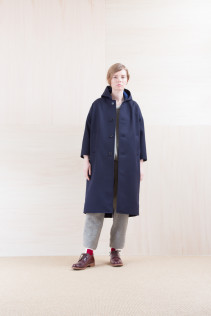 Coat_ NA15-C212 FDOCT 58,500yen+tax br; Cut&Sewn_ NA15-T172 BWT 24,500yen+tax br; Pants_ NA15-P175 GTPT 27,000yen+tax br; Sox_ FA15042 LANA02 3,300yen+tax br; Shoes_ FA15051 REGALIA DURA-L  98,000yen+tax