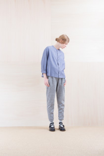 Shirts_ NA15-S12 JMSH 18,000yen+tax br; Pants_NA15-P101 WTPT 24,500yen+tax br; Sox_ FA15041 LANA01 3,300yen+tax br; Shoes_ FA15062 ORDINARIA NOBLE 59,000yen+tax