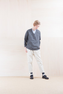 Shirts_ NA15-S63 LSHPO 18,500yen+tax br; Shirts_ NA15-S12 JMSH 18,000yen+tax br; Pants_ NA15-P142 CSSL 21,000yen+tax br; Sox_ FA15041 LANA01 3,300yen+tax br; Shoes_ FA15062 ORDINARIA NOBLE 59,000yen+tax