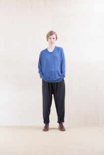 Cut&Sewn_ NA15-T21 CPT144 11,000yen+tax br; Pants_ NA15-P71 FLSL 26,000yen+tax br; Shoes_ FA15051 REGALIA DURA-L  98,000yen+tax