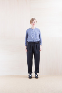 Shirts_ NA15-S12 JMSH 18,000yen+tax br; Pants_NA15-P211 SBCN 32,000yen+tax br; Belt_ FA15091 GRACILIA 13 BLACK 6,500yen+tax br; Sox_ FA15041 LANA01 3,300yen+tax br; Shoes_ FA15062 ORDINARIA NOBLE 59,000yen+tax