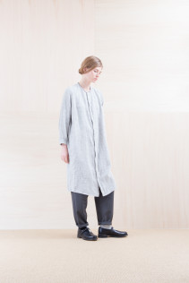 ShirtsDress_ NA15-O123 KMMOP 28,500yen+tax br;  Pants_ NA15-P71 FLSL 26,000yen+tax br; Sox_ FA15041 LANA01 3,300yen+tax br; Shoes_ FA15062 ORDINARIA NOBLE 59,000yen+tax