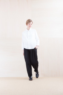 Shirts_ NA15-S11 JSOSH 18,500yen+tax br; Pants_ NA15-P141 CTSL 21,000yen+tax br; Sox_ FA15041 LANA01 3,300yen+tax br; Shoes_ FA15062 ORDINARIA NOBLE 59,000yen+tax