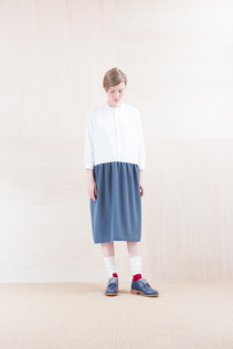 ShirtsDress_ NA15-O98 JMGOP 29,000yen+tax br; Sox_ FA15042 LANA02 3,300yen+tax br; Shoes_ FA15061 ORDINARIA DURA-L 59,000yen+tax