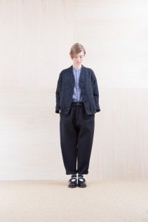 Blouson_ NA15-B193 STCBL 46,000yen+tax br; Shirts_ NA15-S12 JMSH 18,000yen+tax br; Pants_NA15-P211 SBCN 32,000yen+tax br; Belt_ FA15091 GRACILIA 13 BLACK 6,500yen+tax br; Sox_ FA15041 LANA01 3,300yen+tax br; Shoes_ FA15062 ORDINARIA NOBLE 59,000yen+tax