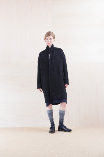 KnitCoat_ NA15-K203 BSCK 46,500yen+tax br; Dress_ NA15-O96 FSOP 28,000yen+tax br; Cut&Sewn_ NA15-T52 BRRT 10,500yen+tax br;  Sox_ FA15043 NIX 3,500yen+tax br; Shoes_ FA15062 ORDINARIA NOBLE 59,000yen+tax