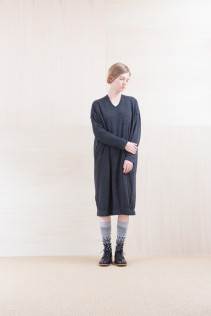 Dress_ NA15-T105 OSOP 25,000yen+tax br; Sox_ FA15043 NIX 3,500yen+tax br; Shoes_ FA15081 SIMPLICIA DURA-L 43,000yen+tax