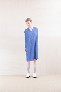 Dress_ NA15-O33 FSOP 24,500yen+tax br; Cut&Sewn_ NA15-T52 BRRT 10,500yen+tax br; Sox_ FA15045 OBLIQUE 2,200yen+tax br; Shoes_ FA15071 AGGRESSIA DURA-L 44,000yen+tax
