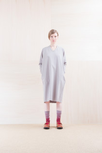 Dress_ NA15-T44 H126OP 19,000yen+tax br; Sox_ FA15043 NIX 3,500yen+tax br; Shoes_ FA15072 AGGRESSIA NOBLE 44,000yen+tax