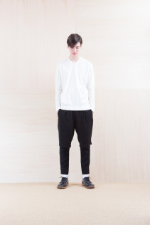 Cut&Sewn_ FA15036 ELEM T-M 12,000yen+tax br; Pants_ NA15-P93 LYPT 28,000yen+tax br; Shoes_ FA15056 REGALIA DURA-M 98,000yen+tax