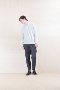 Cut&Sewn_ NA15-T107 WT125T 18,000yen+tax br; Denim_ FA15011 DUN-I 19,500yen+tax br; Shoes_ FA15056 REGALIA DURA-M 98,000yen+tax