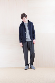 Cardigan_ NA15-T42 HFPK 21,500yen+tax br; Cut&Sewn_ NA15-T107 WT125T 18,000yen+tax br; Pants_ NA15-P132 WDPT 24,500yen+tax