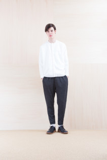 Shirts_ NA15-S17 KMSH 19,000yen+tax br; Pants_ NA15-P101 WTPT 24,500yen+tax br; Shoes_ FA15056 REGALIA DURA-M 98,000yen+tax