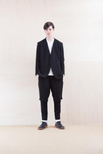 Jacket_ NA15-J100 VTJK 38,000yen+tax br; Cut&Sewn_ FA15036 ELEM T-M 12,000yen+tax br; Pants_ NA15-P93 LYPT 28,000yen+tax br; Shoes_ FA15056 REGALIA DURA-M 98,000yen+tax