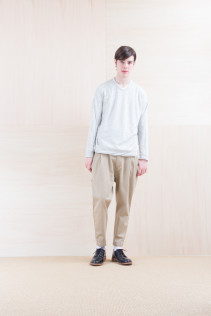 Cut&sewn_ NA15-T108 WTOT 16,500yen+tax br; Pants_NA15-P142 CSSL 21,000yen+tax br; Shoes_ FA15056 REGALIA DURA-M 98,000yen+tax