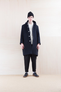 Cap_ NA15-K205 SBCP 10,000yen+tax br; Coat_ NA15-C236 FBCT-M 59,500yen+tax br; Jacket_ NA15-J118 WTDJK 46,000yen+tax br; Pants_NA15-P141 CTSL 21,000yen+tax br; Shoes_ FA15056 REGALIA DURA-M 98,000yen+tax