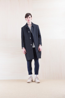 Coat_ NA15-C157 TBCT-M 59,500yen+tax br; Jacket_ NA15-J100 VTJK 38,000yen+tax br; Cut&Sewn_ FA15036 ELEM T_M 12,000yen+tax br; Pants_ NA15-P91 SLMPT 21,500yen+tax