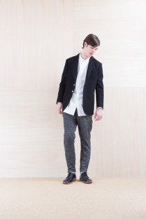 Jacket_ NA15-J158 TRDJK 49,000yen+tax br; Shirts_ NA15-S16 WDSH 19,500yen+tax br; Pants_ NA15-P122 LSPT 24,500yen+tax br; Shoes_ FA15056 REGALIA DURA-M 98,000yen+tax