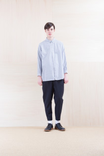 Shirts_ NA15-S18 OSSH 21,000yen+tax br; Pants_ NA15-P41 YGPT 21,500yen+tax br; Shoes_ FA15056 REGALIA DURA-M 98,000yen+tax